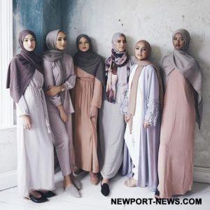 Mode Orang islam serta 4 Prinsip Berpakaian