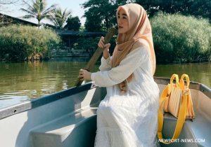 Style Pakaian islam Syari a la Larissa Chou